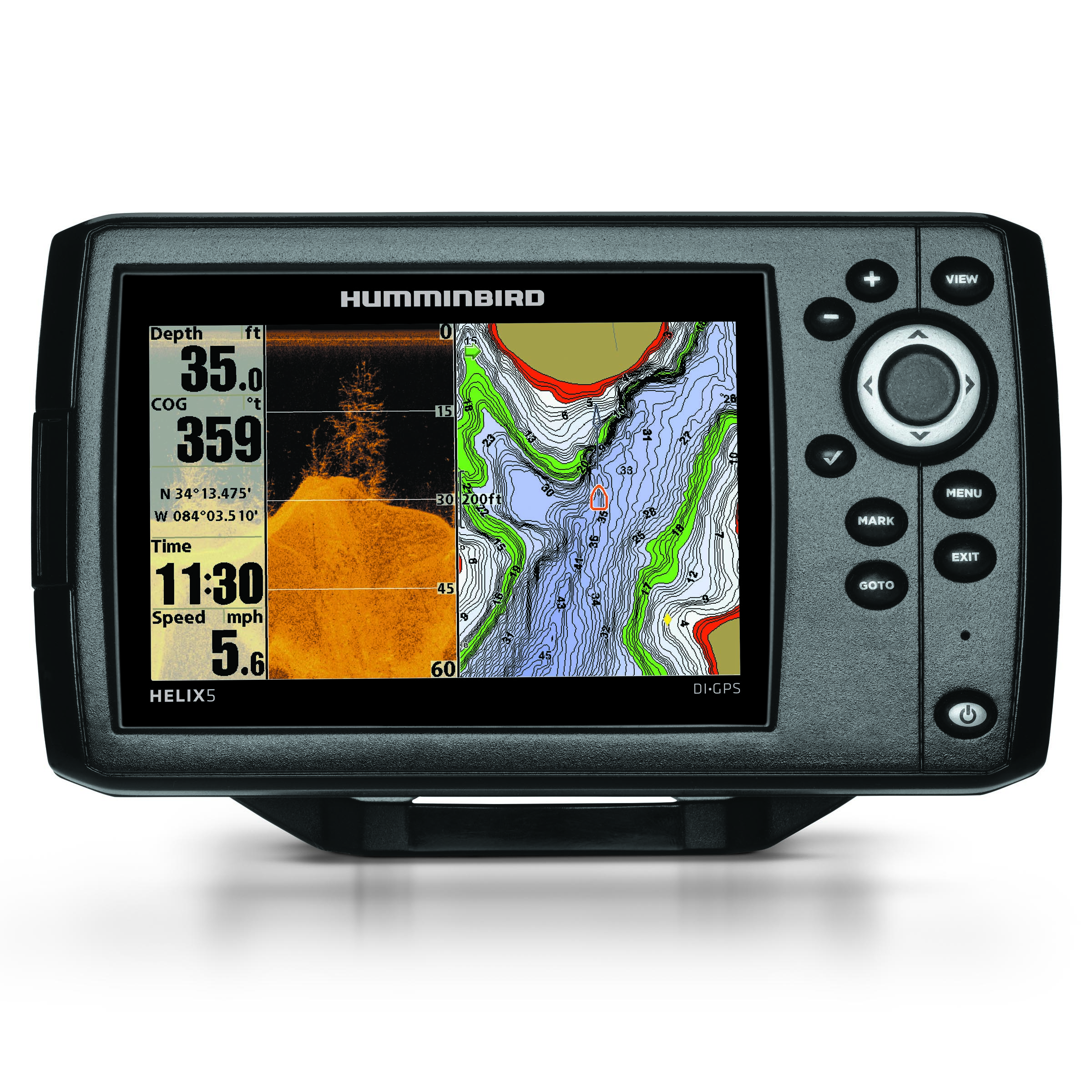 humminbird® introduces new helix™ fishfinder family - welcome to, Fish Finder